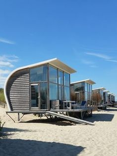 Tips for the next summer vacation or: A week by the sea - Summer vacation – Slapen aan zee – Zeeland – interior design … - Craftsman Bungalow House Plans, Craftsman Bungalows, Europe Destinations, Places To Go, Beautiful Places, Around The Worlds, Outdoor, Design Design, Sustainable Architecture