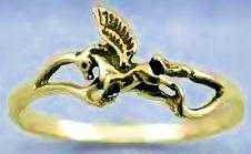 Beowulf Jewelry Shop - Pegasus Ring