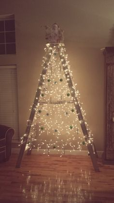 Ladder Christmas Tree.103 Best Ladder Christmas Tree Images In 2019 Ladder