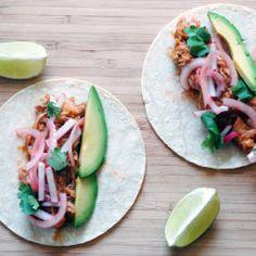 Jackfruit Carnitas Tacos #vegan
