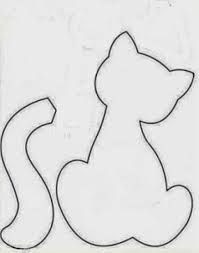 Resultado de imagen para gatos en tela manualidades
