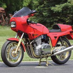 Breganze's Best: 1988 Laverda SFC1000 - Classic Italian Motorcycles - Motorcycle Classics