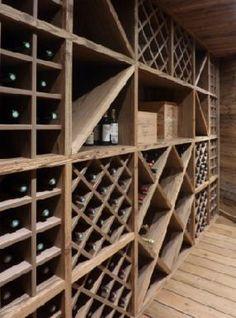 Great idea for a wine cellar