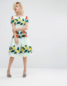 Pin for Later: This Famous '50s Brand Has Been Beautifully Revived For ASOS  Horrockses Lucille Midi Dress (£125)