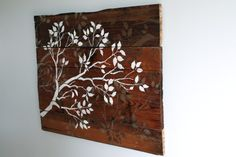 Branches wall art tutorial