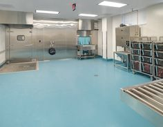 Stonhard's durable, seamless floors inhibit bacterial growth, while offering a slip and chemical resistant surface for pharmaceutical environments