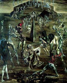 Resurrection of the Flesh, 1945 - Salvador Dali