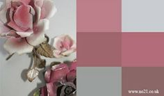 Muted pinks, dusty rose.    New pair of shoes - I'm thinking a nice navy will pop this palette nicely :)