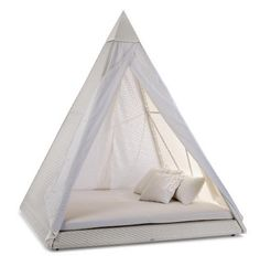 backyard teepee tent via  Love. Luck. Kisses & Cake