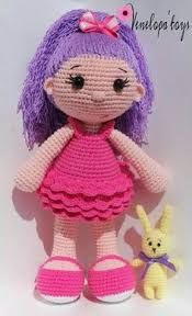 Image result for boneca de croche