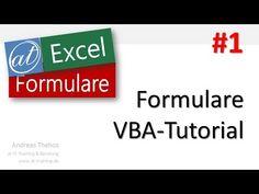 Excel # 163 - VBA Tutorial - Formulare 1