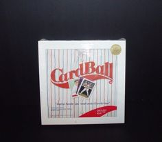 CardBall Limited Collectors Edition 1st Run Baseball Card Action Board Game NEW #BoardGameEnterprisesInc