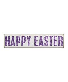Another great find on #zulily! 'Happy Easter' Box Sign by Primitives by Kathy #zulilyfinds