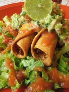 Taquitos, Flautas and Dorados  www.hispanickitchen.com