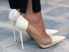white heels // Spring Essential.