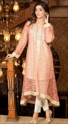 Zainab Chottani party wear dresses 2014 have recently revealed. These dresses are looking stunning with full of grace and splendor of beauty. Indian Wedding Party Dresses, Pakistani Wedding Outfits, Party Wear Dresses, Pakistani Dresses, Indian Dresses, Indian Outfits, Indian Party, Pakistani Bridal, Indian Bridal
