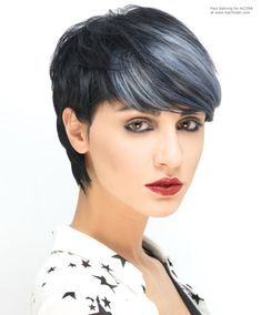 Black with silver highlights, by Paul Gehring.