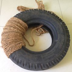 recycle an old tyre