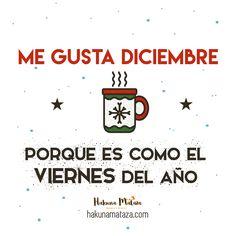 Me gusta #diciembre