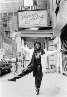 Broadway marquee Whoopi Goldberg Lyceum Theatre