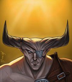 Iron Bull by Merwild.deviantart.com on @deviantART