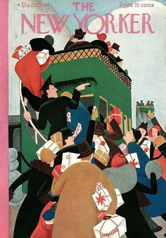 The New Yorker December 12, 1931  Cover Art - Peter Arno  891×1280 пикс