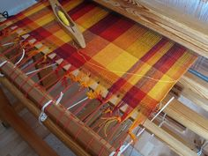 Starting weaving towels | by Freya Willemoes-Wissing