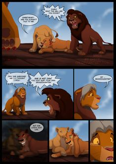 Marks of the past - Page 7 by Irete on DeviantArt Lion King Series, Lion King Story, Lion King 1, Lion King Fan Art, Lion King Movie, Disney Lion King, Disney Au, Disney Memes, Cute Disney