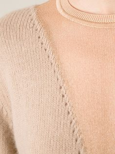 CARVEN - sweater with v detail 10