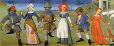 Flemish coif and fab red hood from Hours of Charles of Angouleme