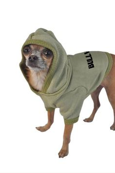 Ruff Ruff and Meow Dog Hoodie Bully Green ExtraLarge * Check this awesome product by going to the link at the image.