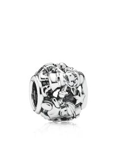 Pandora Charm - Sterling Silver Santa's Elves, Moments Collection