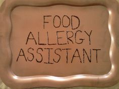 Food Allergy Assistant
