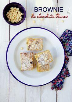 wholekitchen: Brownie de chocolate blanco. Receta