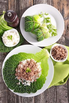 Feuilles de chou farcies à la viande et au riz