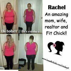 Rachel's TFC Success Story!! | Texas Fit Chicks #Fitness #weightloss #motivation