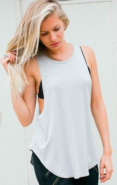 The Lazy Days tank from Joah Brown was made for days like these. Available in new colors at evolvefitwear.com