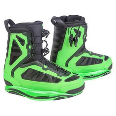 Wakeboard Bindings 47362: Ronix 2016 Parks Intuition (Iridescent Lime) Wakeboard Bindings-12 BUY IT NOW ONLY: $319.99