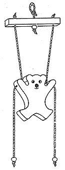 Climbing Bear free scroll saw pattern