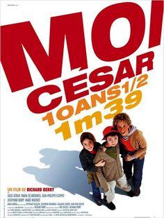 Moi César, 10 ans 1/2, 1,39 m : un joli film d'amitié, filmé à hauteur d'enfants pour mieux se mettre à leur place. Original et intelligent !
