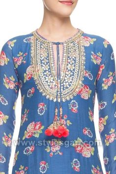 Latest neckline gala designs collection consists of new styles and patterns of cutwork, embroidered neck for churidars, anarkalis, kurtis, etc. Neck Designs For Suits, Neckline Designs, Dress Neck Designs, Blouse Designs, Salwar Designs, Kurti Designs Party Wear, Gala Design, Embroidery Suits Design, Embroidery Designs