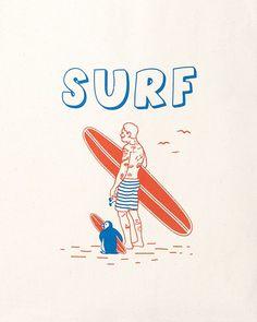 클락인더스트리 SURF 에코백