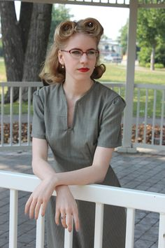 1940s styled dress from The Modiste