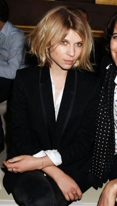 Incredible And Gorgeous clemence poesy short hair Intended for Fantasy Matched All Seasons