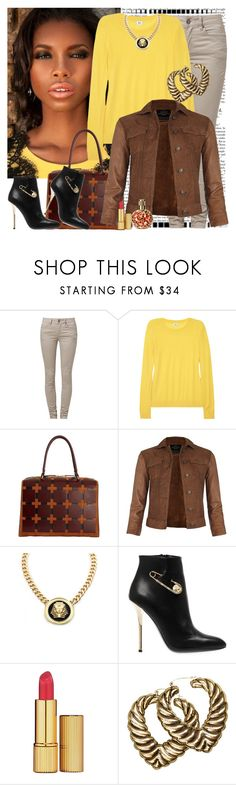 """That Time Again"" by fashionme ❤ liked on Polyvore featuring SELECTED, Iris & Ink, Marni, AllSaints, Roial, Versus, H&M and Millefiori"
