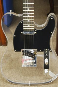 NEW CUSTOM HAND MADE HOT PLAYING ACRYLIC TELE STYLE ELECTRIC GUITAR