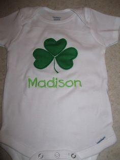 a81c59235 31 Best Cricut St. Patrick's Day images | Baby overalls, Onesies, St ...