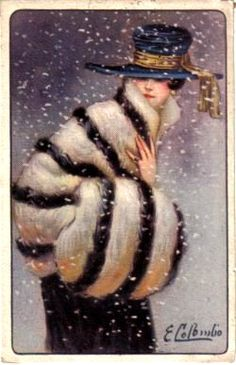 Columbo postcard