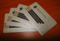 Cartão de visita (GuestCard) de Sebastião Araújo, advogado e associados. Concepção, arranjos e finalização de Nelito Zangui (CreaviDesign)