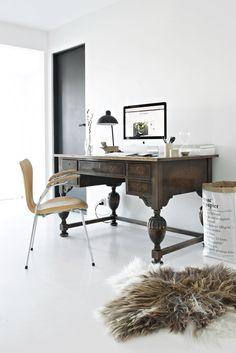 ****LUNA **** antique desk office design interior design